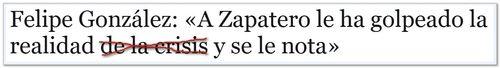 Zapatero gonzalez