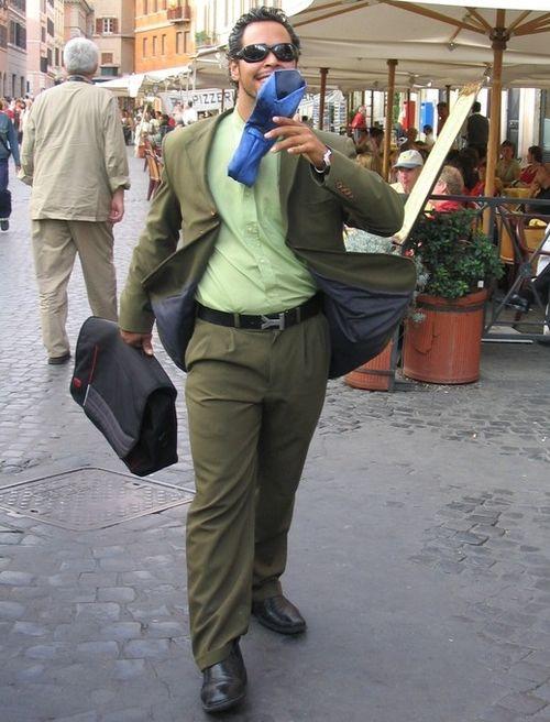 Hombre-estatua-pzza-navona foto Ricardo Bosque