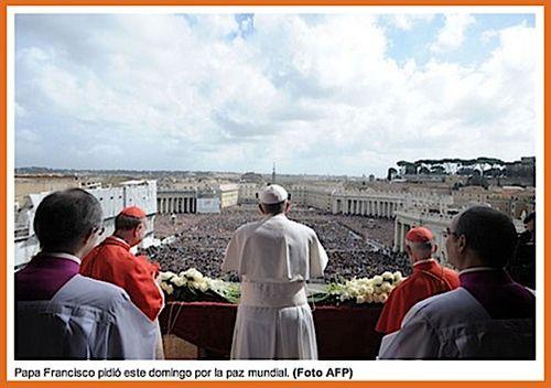Scriptor.org: Muchedumbres escuchan al Papa Francisco hablar de áridos desiertos personales