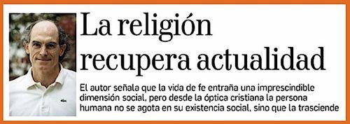 Scriptor.org: Alejandro Navas: con el Papa Francisco, la gente vuelve a la religión