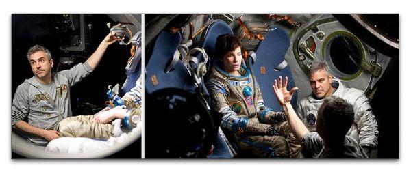 """""""Gravity"""", de Alfonso Cuarón: aquí hay cine después del cine"""