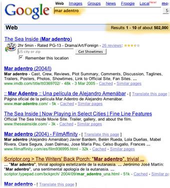 Googlemaradentroscriptor